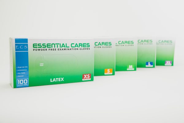 Essential Cares Latex Gloves